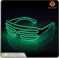 EL Glow party glasses light up flash LED glasses ray-ban led sunglasses