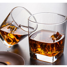 OEM 6OZ whisky drinking glass Square whisky glass