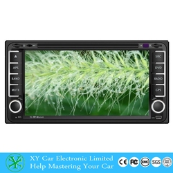 6.95 Inch car GPS navigation dvd player , car radio 2 din for renault megane ii XY-D2695
