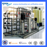 PLC +HMI auto and manual Industrial Pure Water Treatment Plant for sale