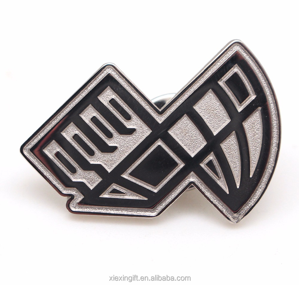 Personalized metal engraved lapel pin badge with your own <strong>design</strong>