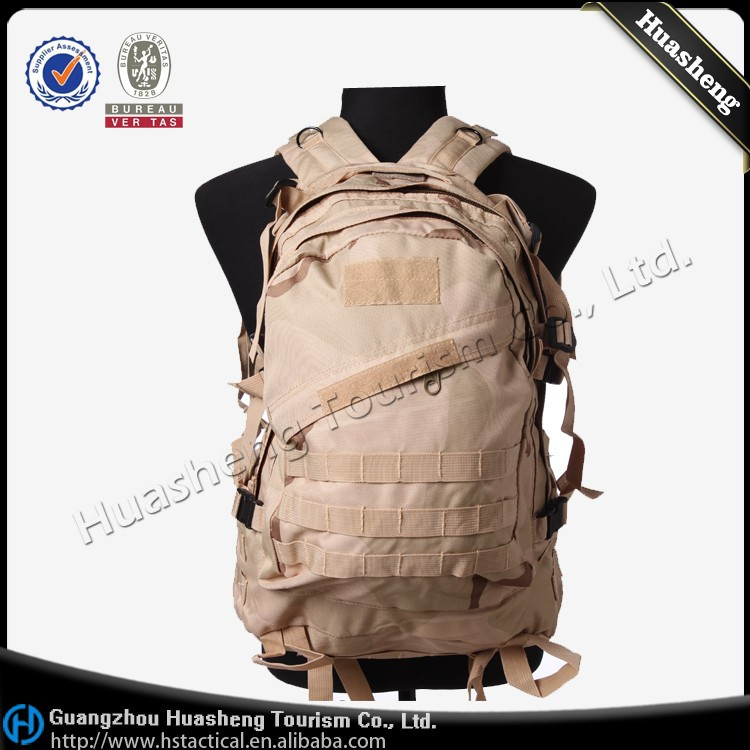 Waterproof Military Backpack Trade Assurance Army 3D Backpack Wholesale