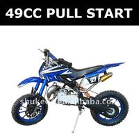 49CC pull start motorcycle ,2-stroke mini moto ,gas pocket bikes