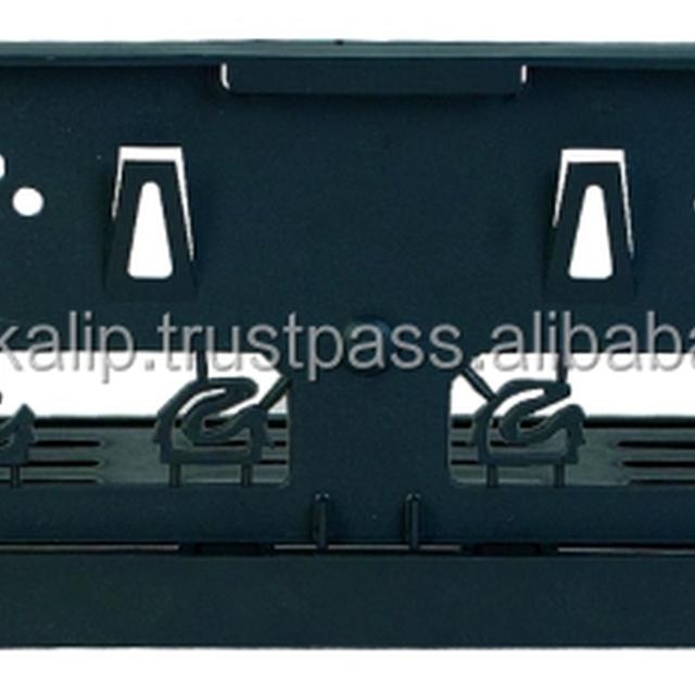EAGLE Simple Economic Plastic License Plate Frame, License Plate Holder
