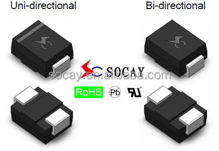 TVS Diodes 1.5SMC550A/high voltage diode/ ESD Component