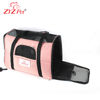 Newest fabric dog foldable pet carrier