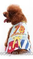 New pet products spring&summer dog clothes sport T-shirt pet apparel