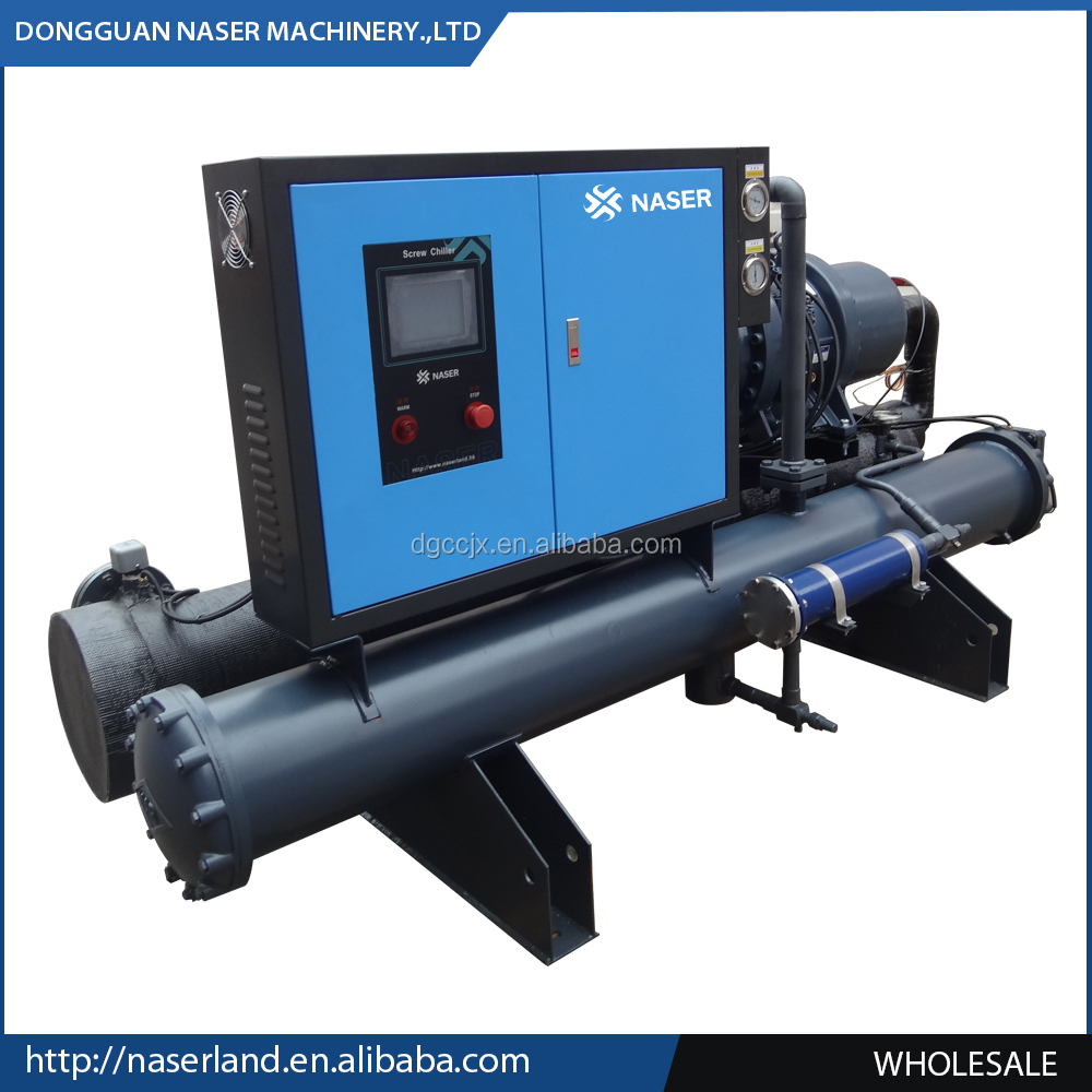 Refrigerating Circle Water Chiller System With Double Screw Compressors