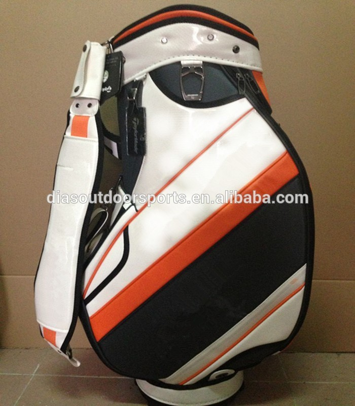 custom tour cart golf bag with embroidery logo