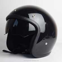 DOT ECE Approved Open face motorcycle helmet with sun shield harley vintage helmets