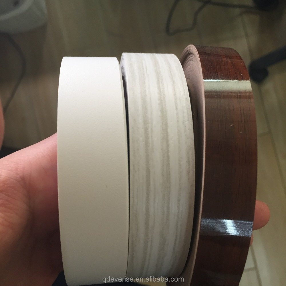 pvc edge banding tape / kitchen cabinet pvc edge banding / 3mm pvc edge banding