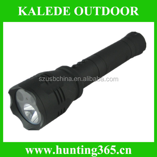factory price HD LED Flashlight 2000MA replaceable battery K7826
