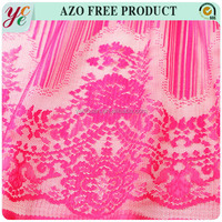 High quality graduated color custom lace for garment