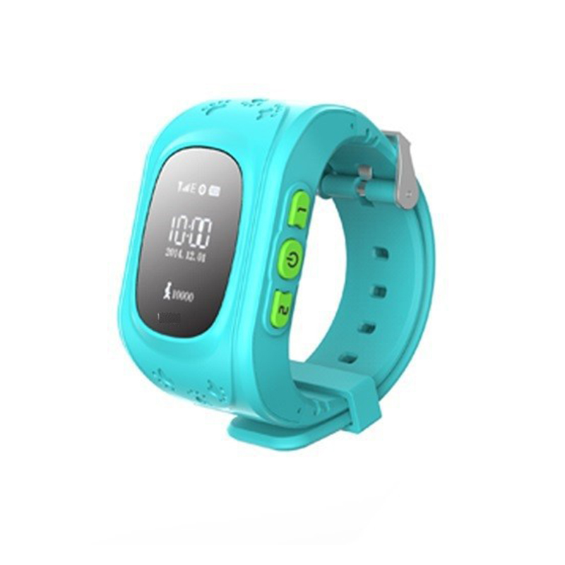 New Arrival Support Phone Call Pink Gps Kids Watch
