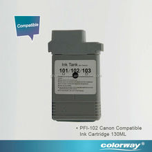 Canon Compatible ink cartridge 130ml Canon PFI-103 for printer iPF5100/6100