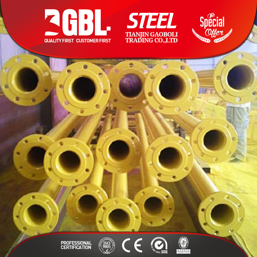 PLASTIC COATED STEEL NATURAL GAS PLASTIC PIPE