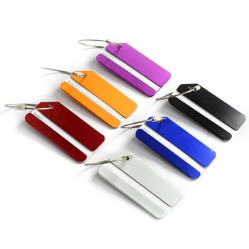 Hot selling promotion gifts colorful luggage tag for traveling