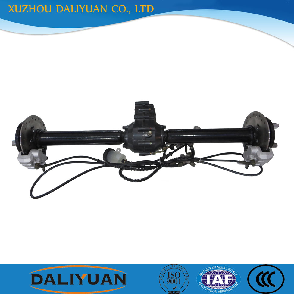 3 wheeler rear axle electric tricycle rear axle for electric tricycle
