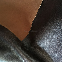 100 polyester wholesale roll fabric faux leather fabric for sofa