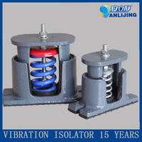 Anti vibration isolation spring mounts for air conditioner in the HVAC system, VIS air conditioning spring ZTE model