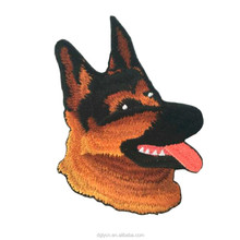 Hot new products custom embroidered patches high quality embroidery design animal