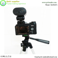 Wholesale dslr camera D3300 camera flash built-3.7V 1000mA rechargeable lithium battery