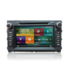 High quality 2din 8inch WIFI DVD 3G GPS BT android car audio system