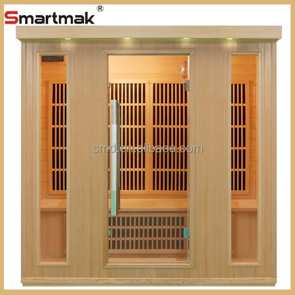 Kingston carbon heater 4 person hemlock wood household infrared sauna