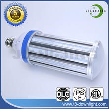 High lumen IP64 waterproof DC 12V AC220V solar led corn light bulb for gas station