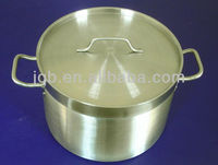 Large 100L stainless steel stock pots