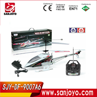 9007A6 big rc planes for sale rc helicopters with gyro 3.5 channel