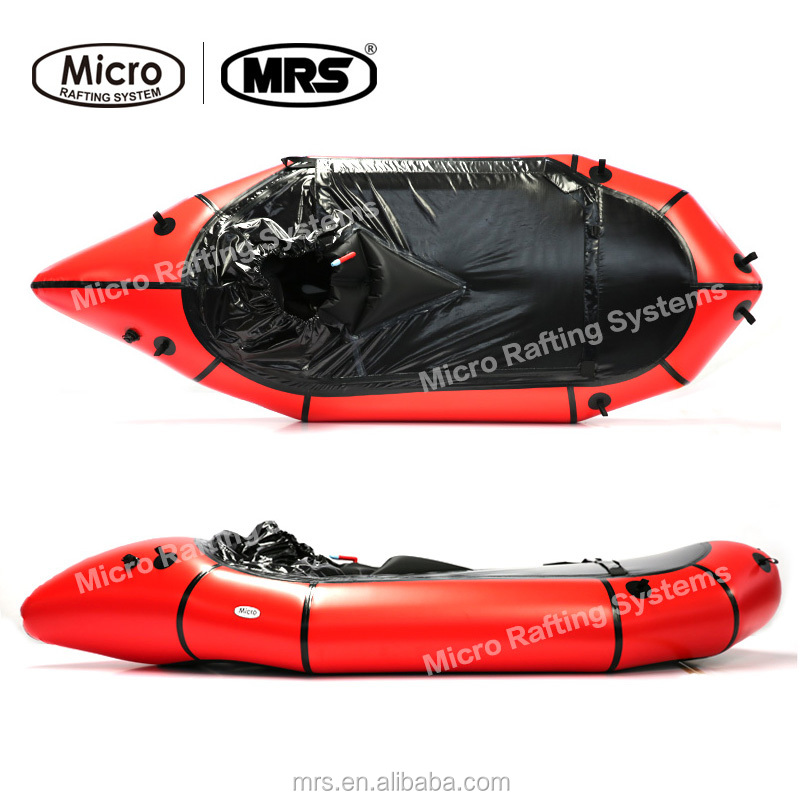 [MRS]Micro Rafting Systems Packraft Inflatable <strong>boats</strong> Canoe Single Long