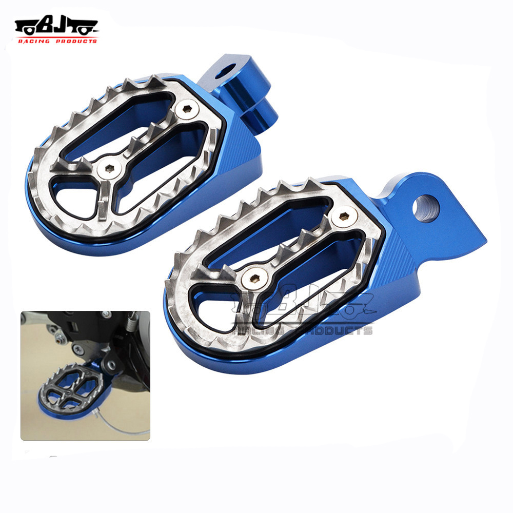 BJ-FP-204 Pit Dirt Bike CNC Foot Rest Pegs for Yamaha YZ450F 04-15