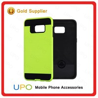 [UPO] wholesale slim hybrid armor mobile phone protector case for samsung galaxy s6 edge plus