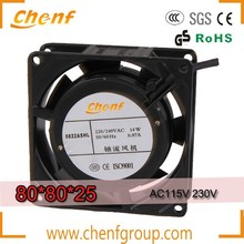 New Energy Saving mine high temperature axial fan // 80mm 110v ac axial cooling fan