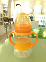 baby products in china PP 240ml wide neck new baby bottle with belt