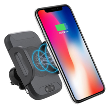 new 2019 trending product C2 wireless car charger for smartphone