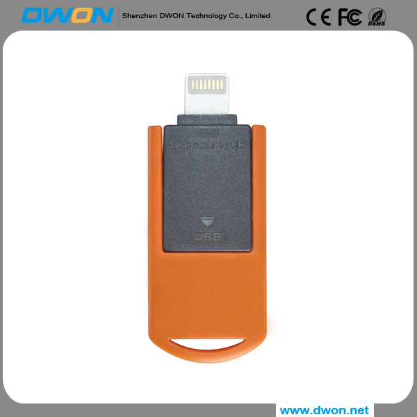 New arrival Coustomer Hot Sale New Product Mobile Phone OTG USB Flash Drive For iPhone with Logo