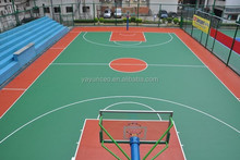 Indoor/outdoor basketball interlocking sports flooring