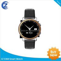 2015 MTK 2502A Smart Watch Dm360 Bluetooth 4.0 Smartwatch Compatible with Android Ios Support Sleep Monitor Anti-Lost