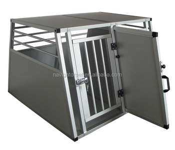 Aluminium Pet Cage with double doors