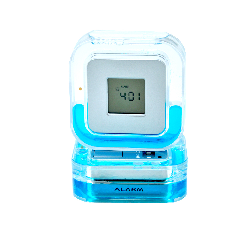 Beautiful Design Water Energy Small Size Electronic Clock
