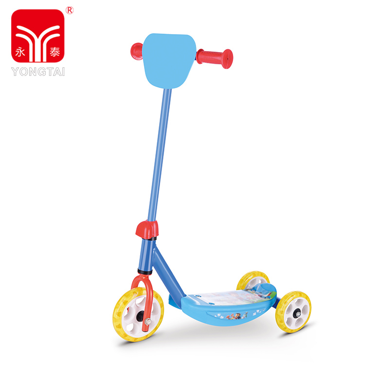 Hot Selling Three Wheel Child Kick Scooter For Kids, Colorful Self Balancing Sports Scooter