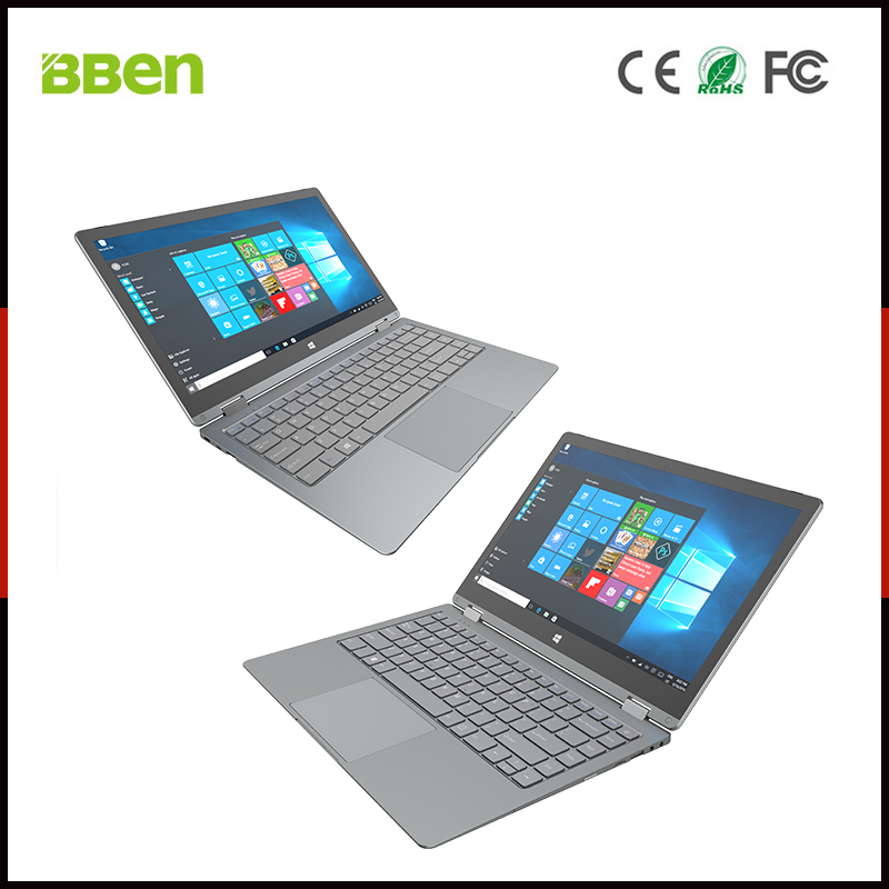 BBEN New design wholesale 13.3 inch Yoga laptop/notebook Intel windows laptop from China with OEM/ODM service