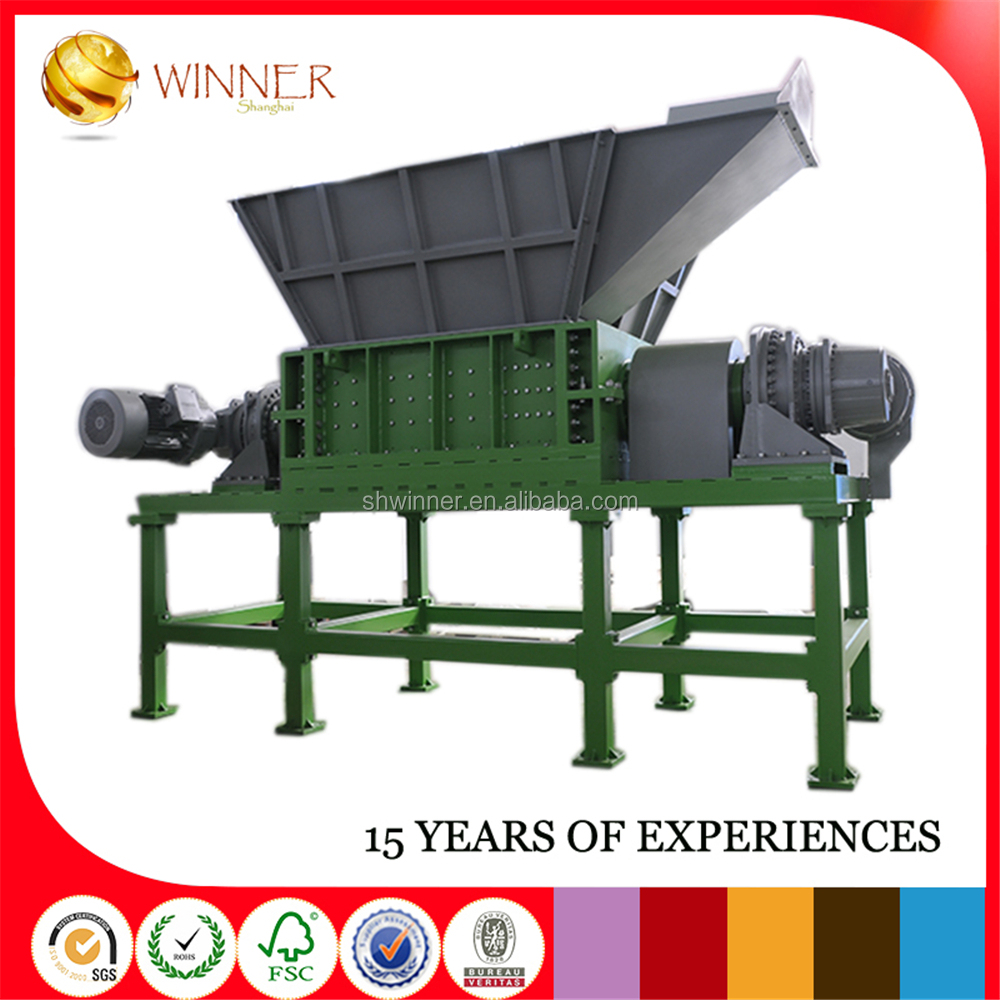 Rubber Raw Material Car Plastic Recycling Equipment Small Nylon