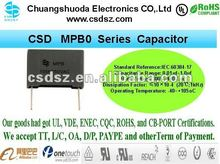 CSD-MPB Series Smaller Sze Long Life film equivalent to philips capacitor