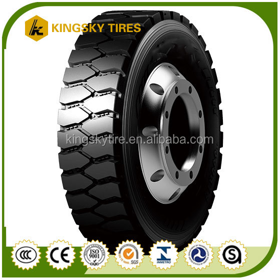 Large Block Wholesale Tyres Dubai 12R22.5 used truck tires