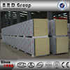 BRD new product prefab house pu insulated exterior wall panel