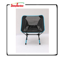 High quality Outdoor Aluminum Alloy Ultralight Portable Folding Stool Camping Fishing Chair Small Seat Beach Chairs