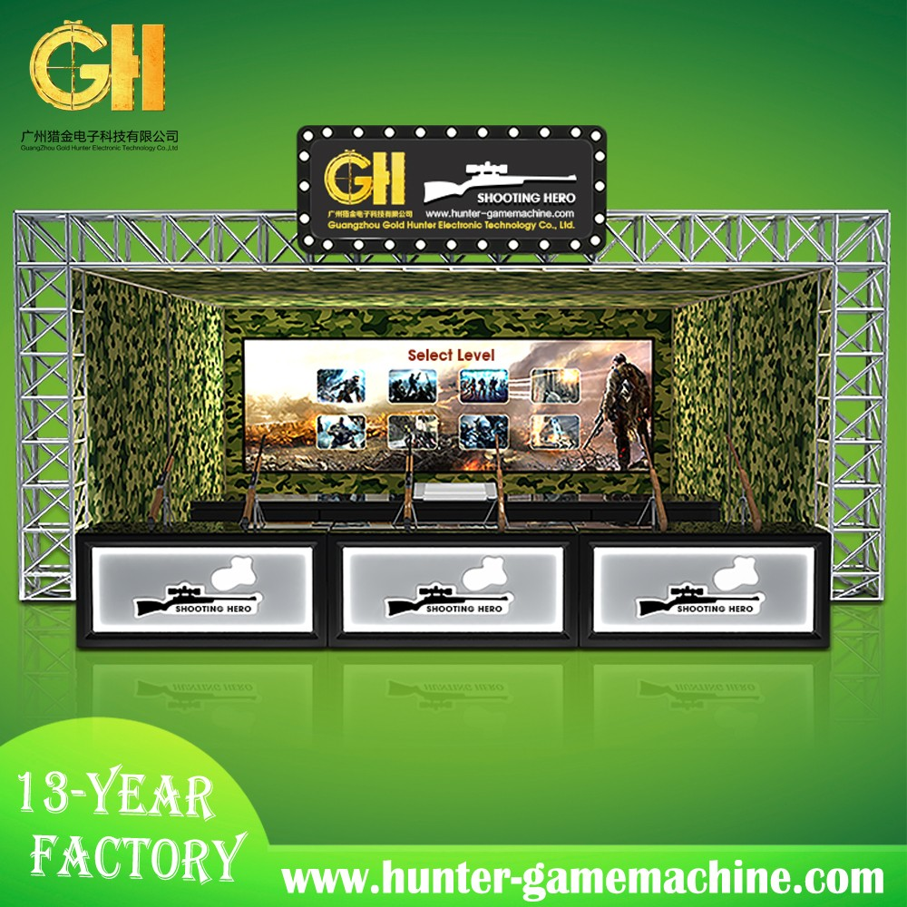 hunting hero large scale amusement park products game hunting